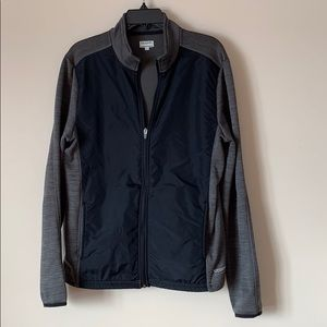 Running Room Fit Wear Small black and grey Jacket